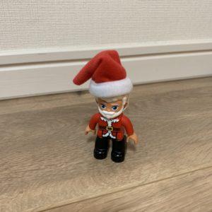 レゴデュプロ サンタさんと雪あそび