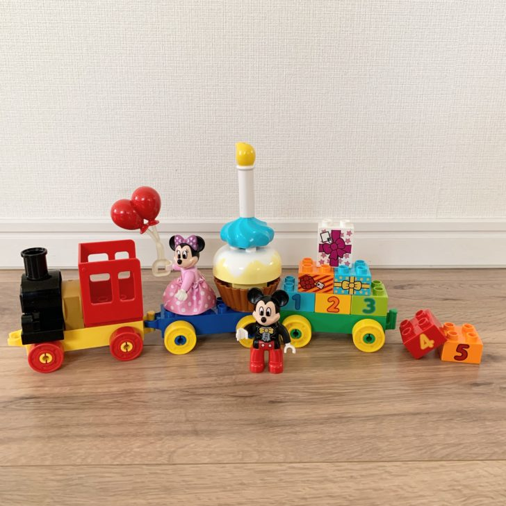 レゴデュプロ ミッキーとミニーのバースデーパレード