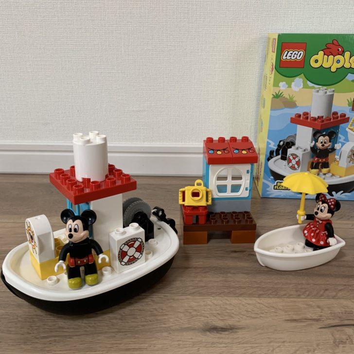 レゴデュプロ ミッキーとミニーのバースデーボート