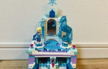 レゴ エルサのジュエリーボックス