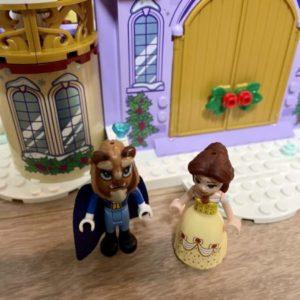 レゴ ベルのお城のウィンターパーティー